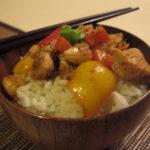Pui Gongbao (Pui cu alune) 宫宝鸡丁