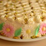Tort Margareta- tort cu ciocolata alba si fistic