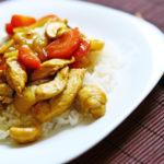 Pui cu curry si caju   咖喱鸡