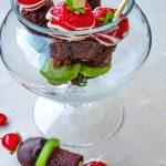 I love chocolate party-Frigărui cu ciocolată și fructe