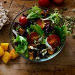 Salata de iarna cu dovleac copt