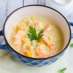 Supa de porumb cu creveti