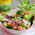 Salata de naut cu somon afumat
