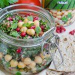 Salata la borcan cu tabbouleh si naut