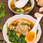 Supa de wonton