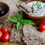 Biscuiti vegani cu seminte-low carb