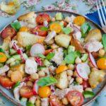 Salata cu ton si naut