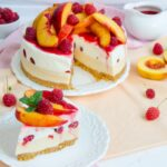 Cheesecake Peach Melba